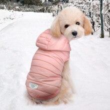 สัตว์เลี้ยง Chihuahua Pug Dog เสื้อผ้าสำหรับสุนัขขนาดกลางขนาดเล็ก Yorkshire Schnauzer WARM ฤดูหนาวสัตว์เลี้ยง Puppy Coat แจ็คเก็ตเสื้อผ้า Ropa Perro