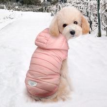 Pet Chihuahua mops pies ubrania dla małych średnich psów Yorkshire sznaucer ciepłe zimowe zwierzęta płaszcz dla szczeniaka kurtka odzież Ropa Perro
