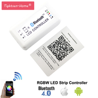 Bluetooth LED RGBW Controler DC 12 24V MIni Wireless IOS Android Bluetooth RGBW LED Controller For