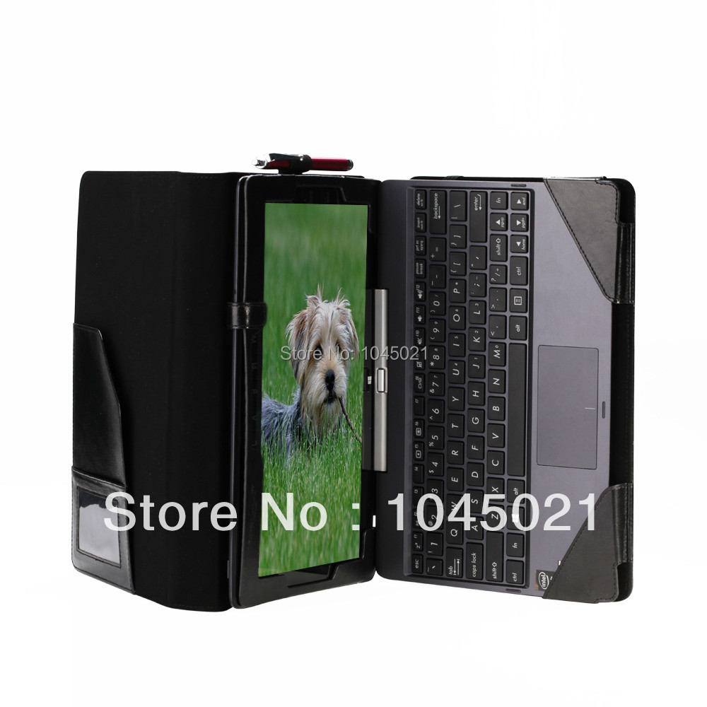 все цены на  New 2in1 Detachable Leather Case Folio PU Keyboard Case Cover For Asus Transformer Book T100TA 10.1 inch Tablet PC free shipping  онлайн
