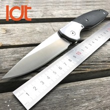 LDT Roller 110 Folding Knife D2 Blade G10 Steel Handle Outdoor Tactical Wild Boar Camping Knive Hunting military Pocket EDC Tool