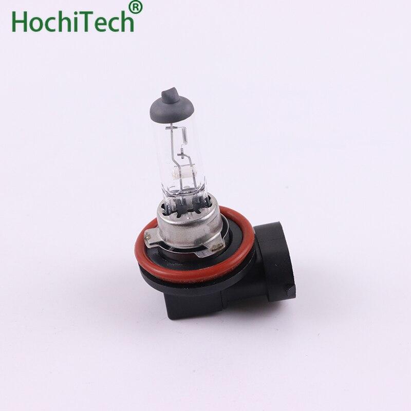 Высокое качество H8 свет галогенная лампа 4500K 12V 35W 3000Lm ксеноновая теплая белая кварцевая стеклянная сменная лампа для фары автомобиля