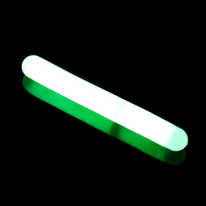 Palo de luz para pesca Goture 100 unids/lote, luces fluorescentes para pesca, barras luminosas químicas para pesca en Color verde