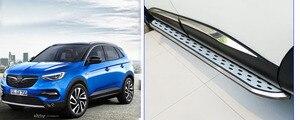 Image 5 - Nieuwe Collectie Nerf Bar Side Bar Voet Stappen Voet Board Voor Opel Grandland X, Dikker Aluminium, vervaardigen Door Beroemde Fabriek