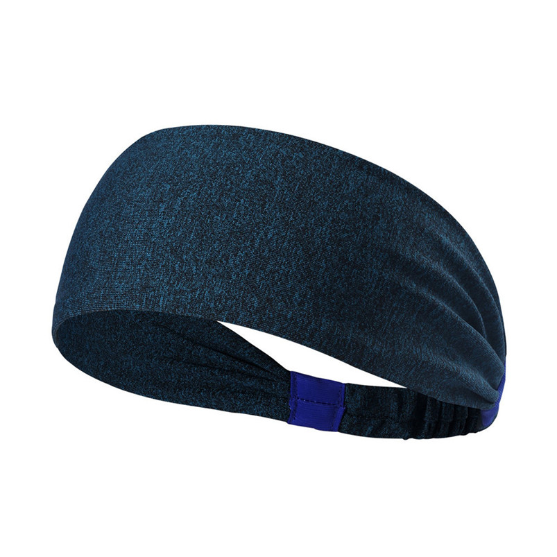 New Wide Sports Headbands Breathable Durable Stretch Elastic Yoga Running Headwrap Hair Band Sports Safety Sweatband #4S19 (3)