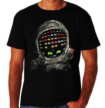 Y Tee Corta Con Camiseta Fiesta Gamer Retro Manga 80 Arcade Para Hombre Estilo De Top rxedBWQCo