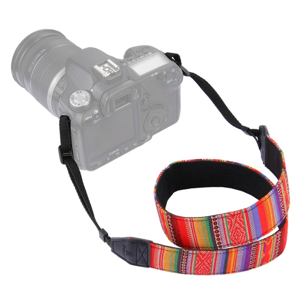 Color : A1 Camera Belt Accessory Camera Neck Shoulder Strap Belt for DSLR//SLR//Digital Camera Durable