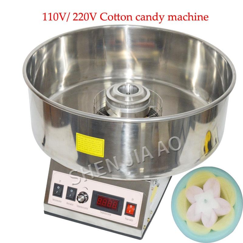 110V/220V Cotton Candy Machine Commercial Electric Candy Floss Machine Cotton Candy Maker Electric Cotton Machine CC-3803 1pc