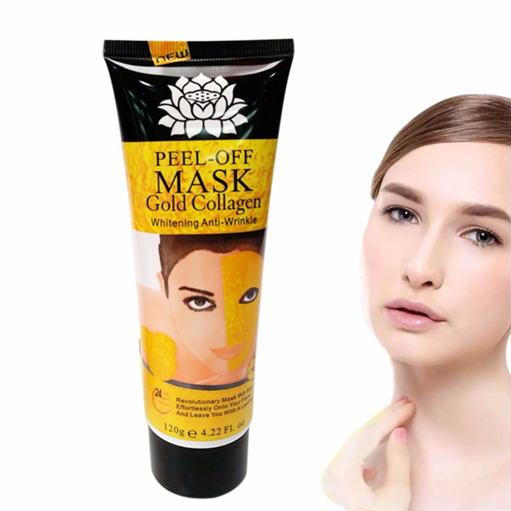 1pcs Women 24K Golden Facial Mask Anti-Wrinkle
