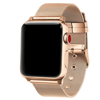 For Apple Watch Band Case 38mm 42mm Milan Loop Adjustable Classic Metal For Iwatch Stap Watch