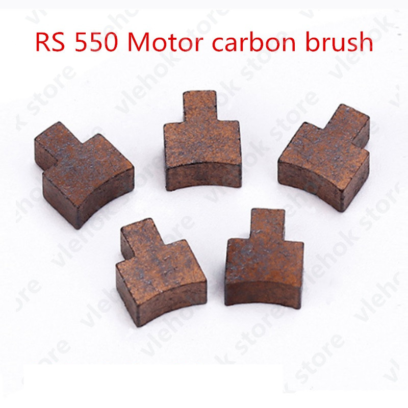 carbon brush replace for RS540 RS545 RS550 <font><b>RS</b></font> 550 <font><b>555</b></font> RS555 BOSCH MAKITA DEWALT HITACHI METABO Milwaukee WORX Hilti Ryobi Motor image