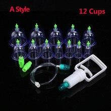 身體馬殺雞拔罐器-12組 12 Cans Cupping Set Medical Vacuum Cupping Suction Therapy Device Body Massager Set Chinese Medical