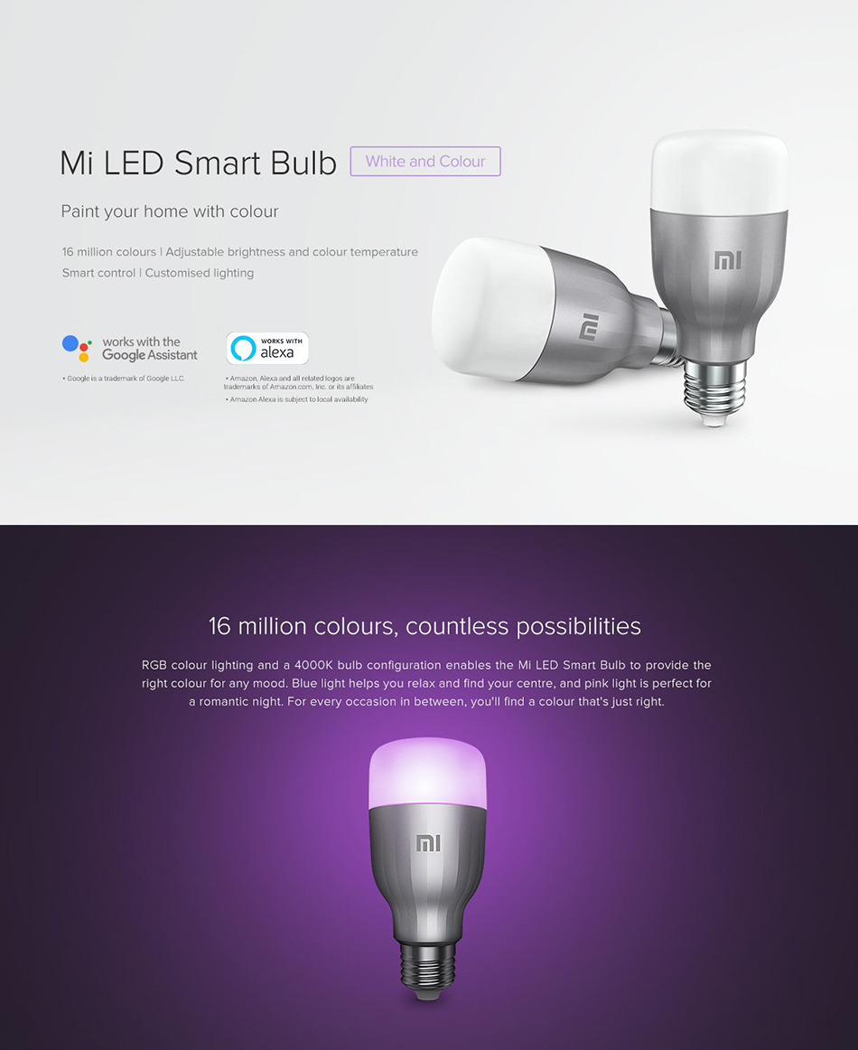Xiaomi Mi Smart LED Smart Bulb Essential (White and Color) 3