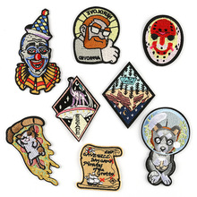 DOUBLEHEE Space Culture Patch Embroidered Patches For Clothing Iron On Close Shoes Bags Badges Embroidery