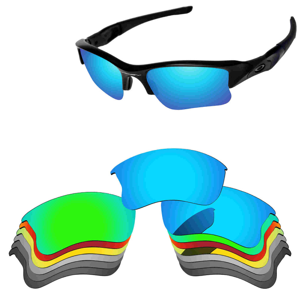 885eecf98b PapaViva Replacement Lenses for Flak Jacket XLJ Sunglasses Polarized  Multiple Options-in Accessories from Apparel Accessories on Aliexpress.com