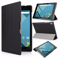 Luxury Ultra Thin Slim Folio Stand Flip Leather Case Smart Sleeve Protective Cover For Google Nexus