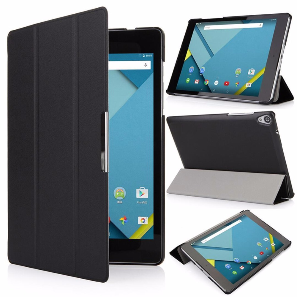 Luxury Ultra Thin Slim Folio Stand Flip Leather Case Smart Sleeve Protective Cover For Google Nexus 9 Nexus9 8.9