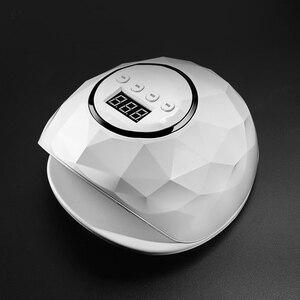 Image 1 - ブランド新 72 ワット/86 ワットuvランプドライヤーpro uv ledジェルネイルランプ高速硬化ゲルポーランドアイスランプマニキュアマシン