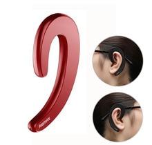 Mini Ear Hook No Pain Wear Wireless Headset Music Earphone with Mic Bone Conduction Bluetooth headphone for iPhone/Android цена и фото