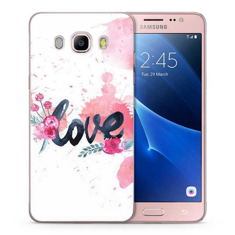 Para Samsung Galaxy A3 A5 2016 2015 prime 2017 J1 J2 J3 J5 J7 G530H S8/plus Nota 8 TPU Macio Paisagem Flora Caso Pintado C063