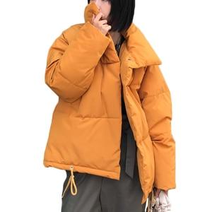 Image 2 - Nuevo abrigo de invierno para mujer, Chaqueta de algodón cálida para mujer, servicio de pan coreano, chaquetas acolchadas, chaqueta parka femenina, abrigos A941