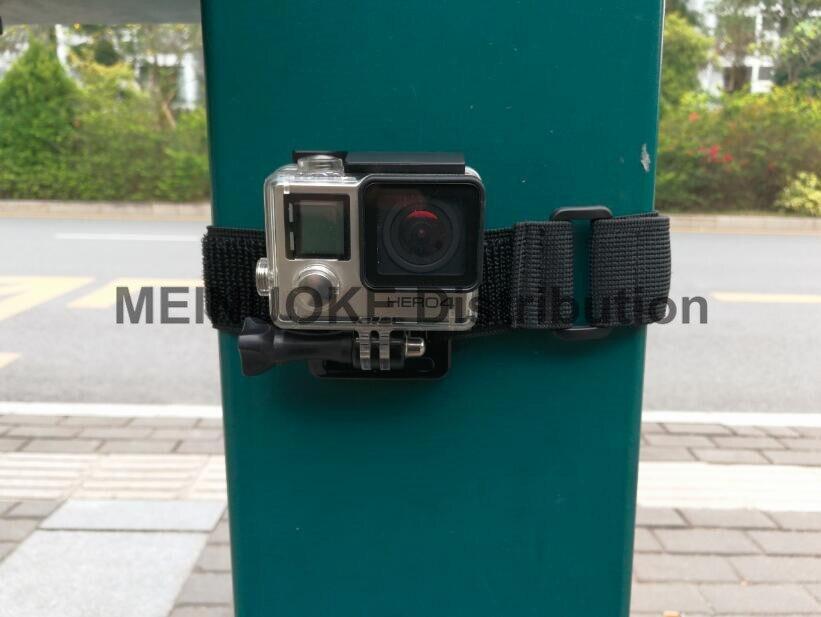 Gopro Hero5 4, SJ4000 액션 카메라 용 조절 식 스트랩 벨트 마운트