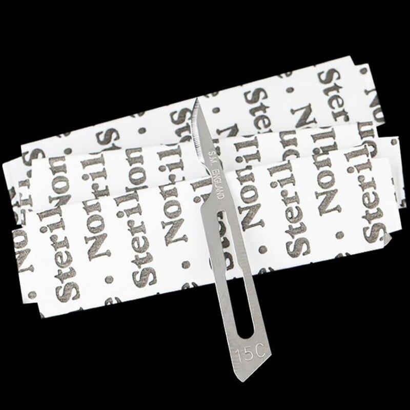 Tools : Swann Morton M0221 No 15C Sterile Carbon Steel Scalpel Blades  100pcs box