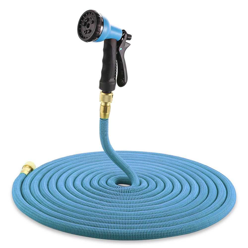 High Quality 25ft 100ft Garden Hose Expandable Magic Rubber Flexible Water Plastic Hoses Pipe