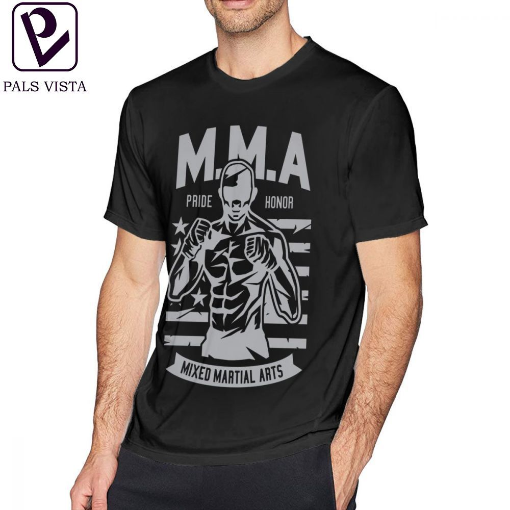 Men/'s Mixed Martial Arts Military Green T Shirt Wrestling Boxing Karate Judo MMA