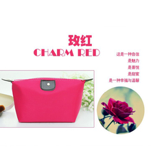 Hot Professional Cosmetic Bag Double Sides Pouch Beauty Make Up Purse Cosmetic Cases Jewelry Storage Bags