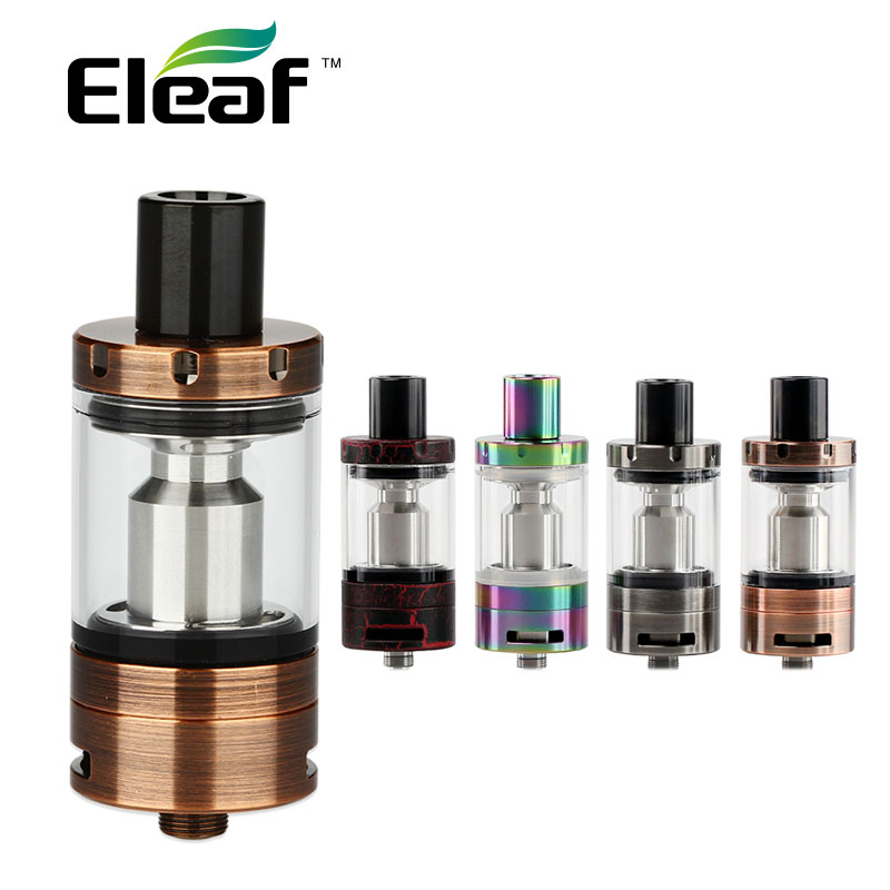 Original Eleaf iJust S Tank Atomizer 4ml Tank Capacity with New ECL Head Top Filling for iJust S Battery & iJust S Kit vs Melo 3 inc new purple pink paisley printed women s size small s tank cami top $59