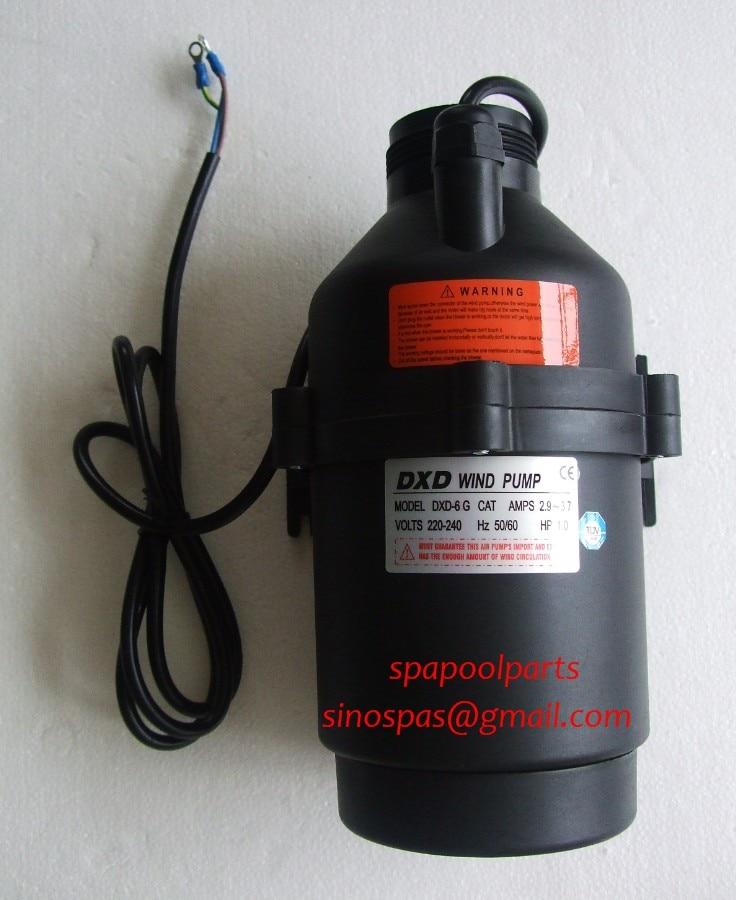 DXD 6G 1.0HP Wind Air Pump 0.75kW 220V/50HZ  Hot Tub  Spa  Whirlpool Bath 1HP DXD-6G