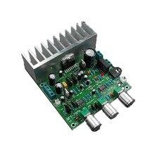 서브 우퍼 tda7379 증폭기 보드 3 채널 64 w 단일 공급 장치 AC DC 12 v 차량용 증폭기 보드