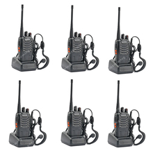 6x BAOFENG BF-888S UHF 400-470MHz 5W 16CH Ham Two-way Radio Walkie Talkie  ON0404