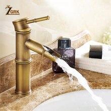 Смеситель для ванной комнаты zgrk латунный кран раковины роскошный