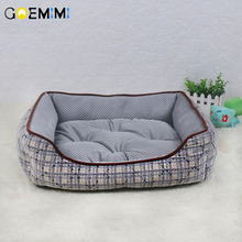 Dog Kennel Soft beds Puppy Cat Bed Pet House for Small and medium Pad Winter Warm Cushion high quality Product