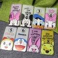 Дональд Дак Doraemon Микки Минни Маус Силиконовые Телефон Дело Shell Обложка для Apple iPhone 6 6 С 4.7 ''/6 Plus 5.5'' 5 5S SE капа