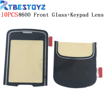 RTBESTOYZ 10PCS/Lot Black Lens For Nokia 8600 LCD Screen Glass lens and Keypad Lens With Double Side Sticker