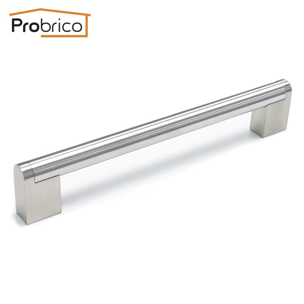 Probrico 10 pcs stainless steel boss bar diameter 14mm cc for Stainless steel kitchen cabinet price