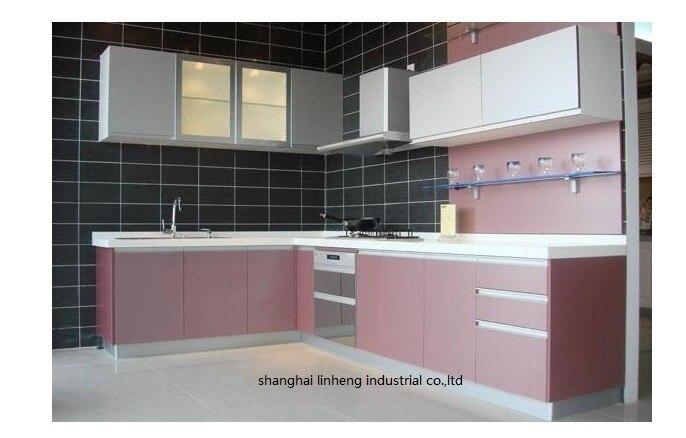 Меламин/mfc кухонных шкафов (lh me010)