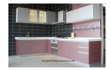 melamine/mfc kitchen cabinets(LH-ME010)