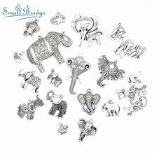 Various Shapes Spacer Clip Alloy Beads fit Charms Original Bracelet Bangle Trinket for women mix Ancient Silver Wholesale