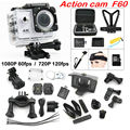 F60 Wifi Action Camera 4K Extreme Mini Diving action Cam Waterproof Sport Camera
