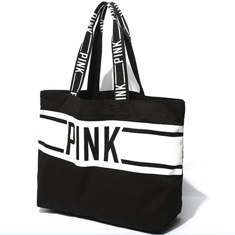 Aliexpress.com : Buy 2015 Beach Bag Famous Brand VS Black White ...