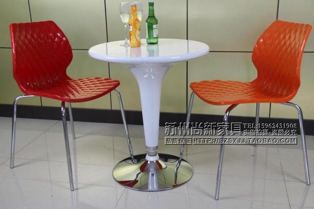 Mesa redonda IKEA simple mesas de plástico y sillas mesas de Bar ...