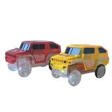 Новинка, креативный электронный специальный автомобиль для магических треков, игрушки с мигающими огнями, Обучающие 15