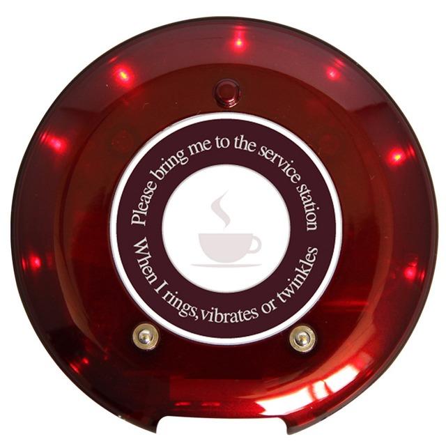 Sistema de Paginação SINGCALL, coaster restaurante sistema de fila, clientes levar comida para usar. pager sem fio.