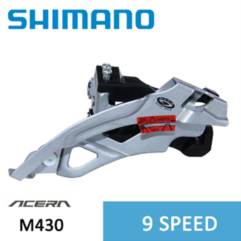 Shimano Alivio Front Derailleur FD-M430 9 Speed for MTB Clamp-On Dual Pull