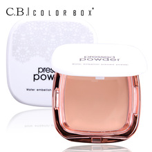 COLOR BOX New Mineral Pressed Powder Brighten Concealer Cream Face Base Foundation Makeup Palette Beauty Brand Make Up Cosmetics