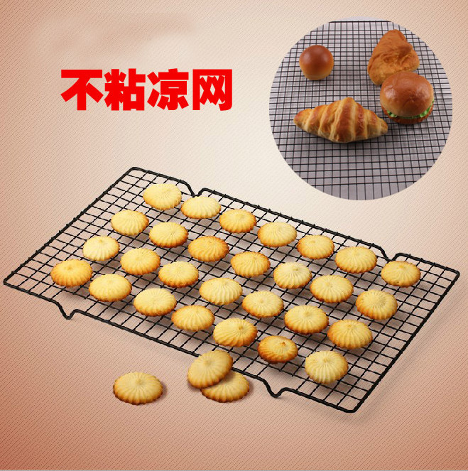 Black is not sticky Stainless steel cake biscuits bread Cake Tools Molds for the Kitchen Baking